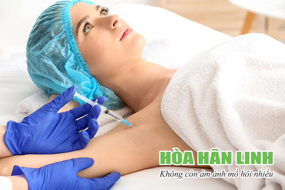 Điều trị mồ hôi nách bằng phương pháp tiêm botox